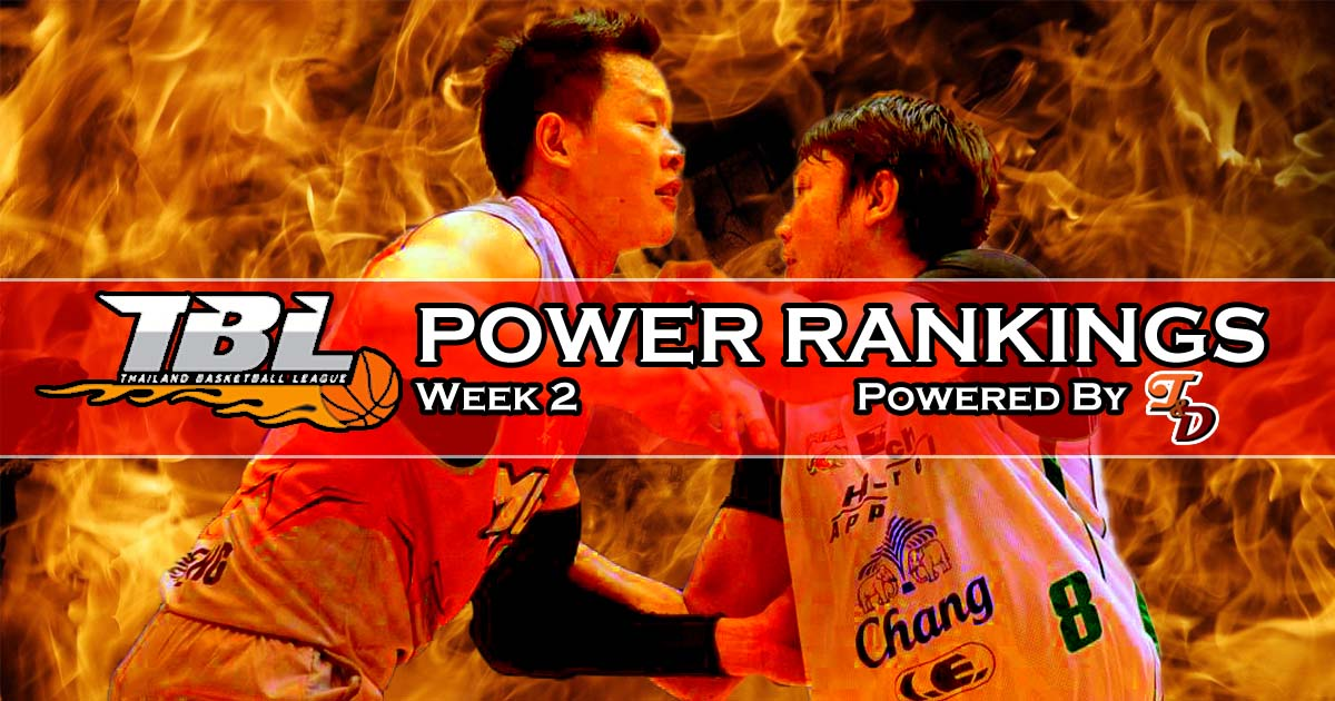 Tones Definition Tbl Power Rankings Week 2 Clash Of The Titans