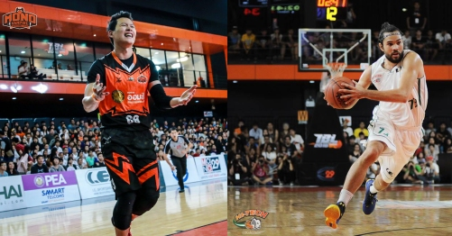 Photo Credit: Mono Vampire Basketball Club (left), Kuk Onvisa Thewphaingarm (right)